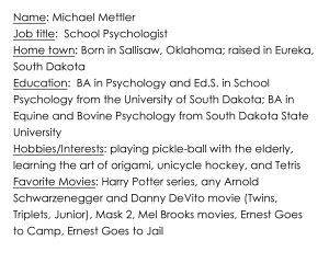 Michael Mettler Bio